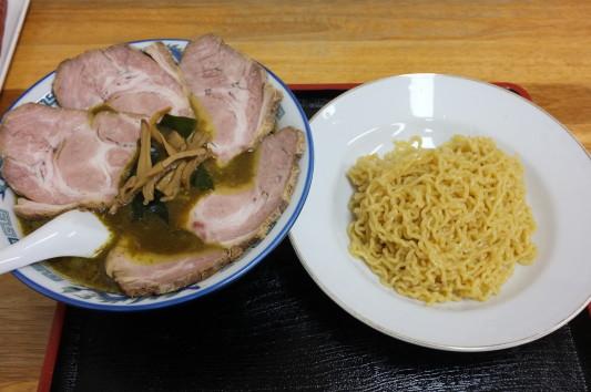 カレー冷しつけ麺+チャーシュー