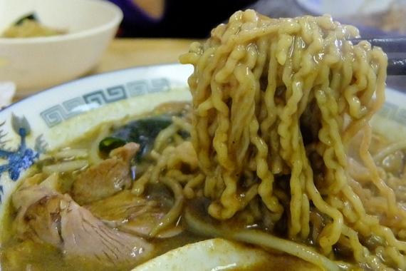 カレーチャーシュー麺