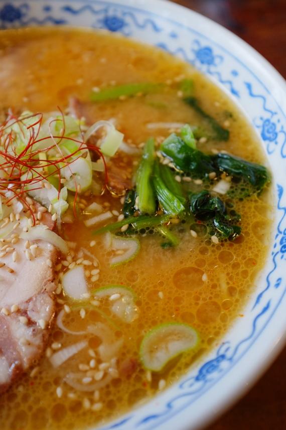 道産味噌ラーメン+チャーシュー