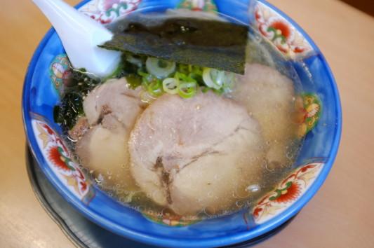 ガラ味塩ラーメン+チャーシュー