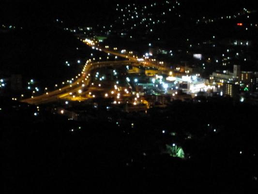 測量山 夜景