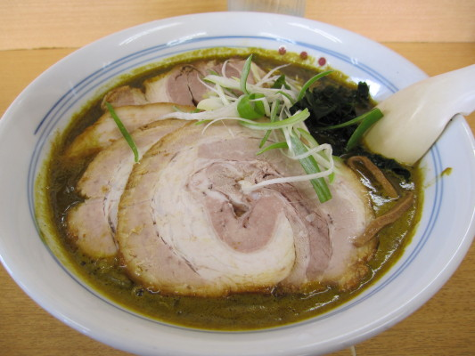 じぇんとる麺 カレーチャーシュー麺