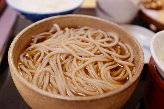 そば定食(天ぷら)