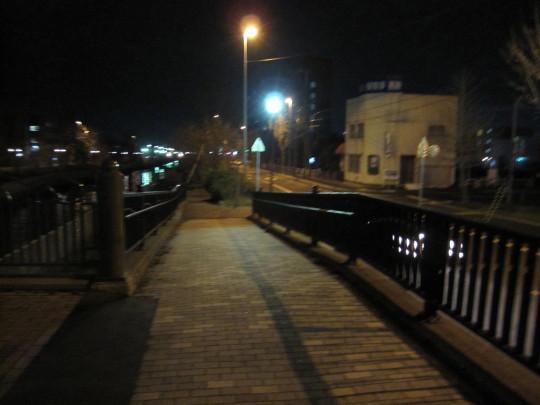夜のらんらん橋