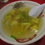 ワンタンスープ 500円