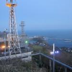 測量山からの景色(追直漁港方面)
