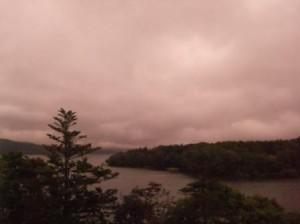 阿寒湖 夜明け前