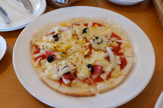 米粉のクリスピーピザ