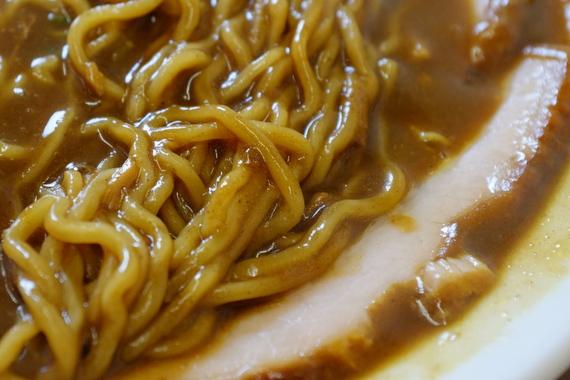 竹よし特製カレーラーメン+大盛+チャーシュー