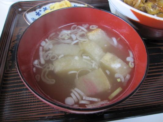 豚どんのスープ