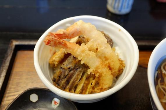 馳走セット(ミニ天丼)