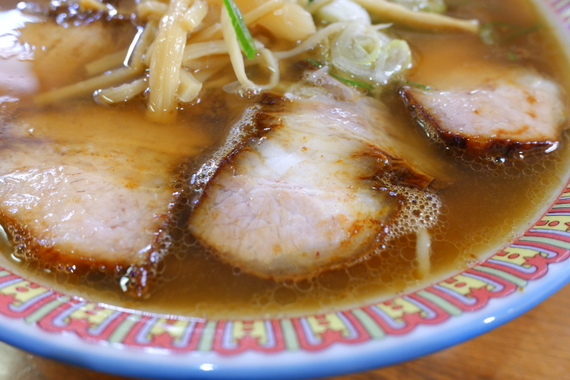 塩チャーシュー麺 大盛