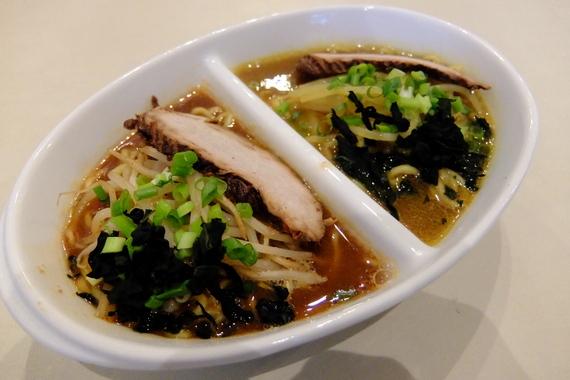2種盛ハーフ麺