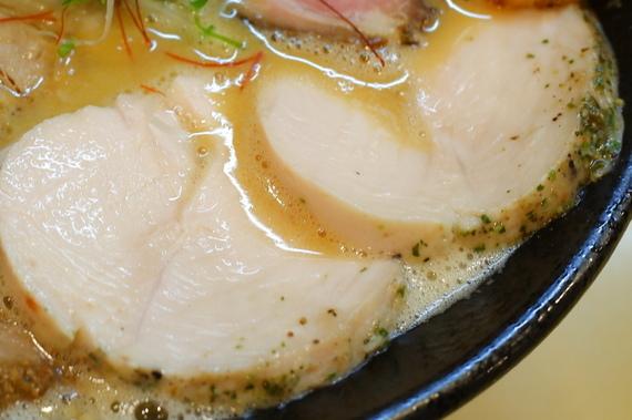 濃厚鶏白湯しお+全部のせトッピング