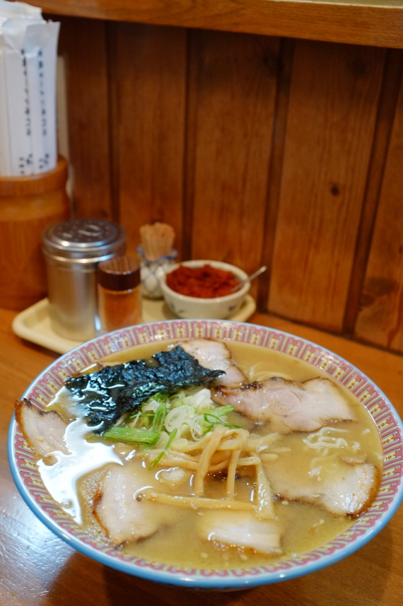 味噌チャーシューメン(大盛り)