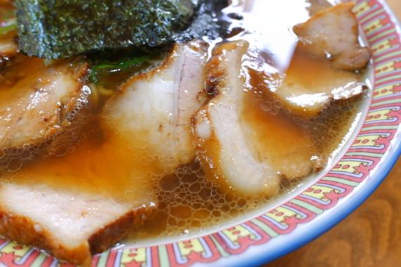 醤油チャーシューメン大盛