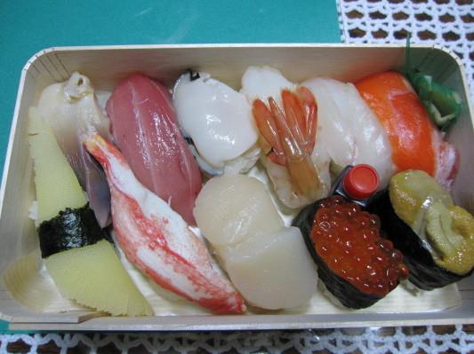 極上生鮨(折詰) 3100円