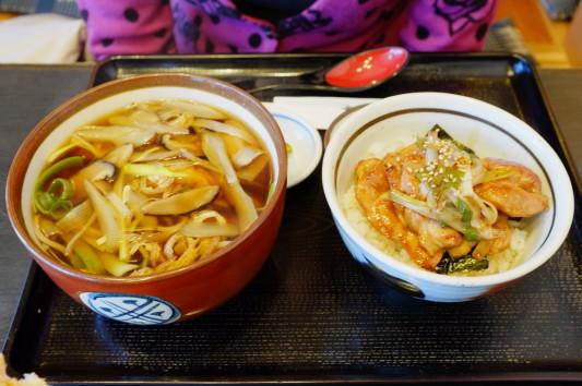 照焼丼セット(照焼丼+きざみそば)