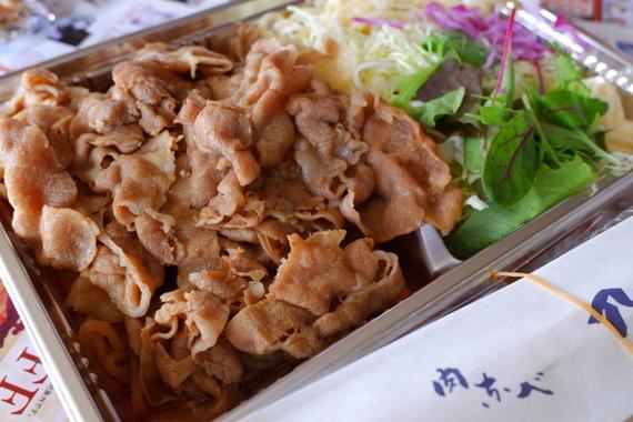 豚すきやき弁当(テイクアウト)