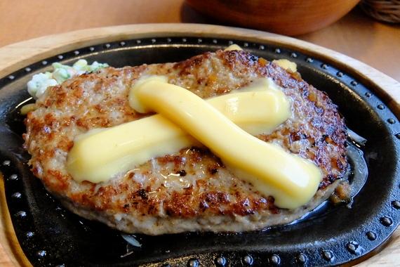 チーズハンバーグステーキ(300g)