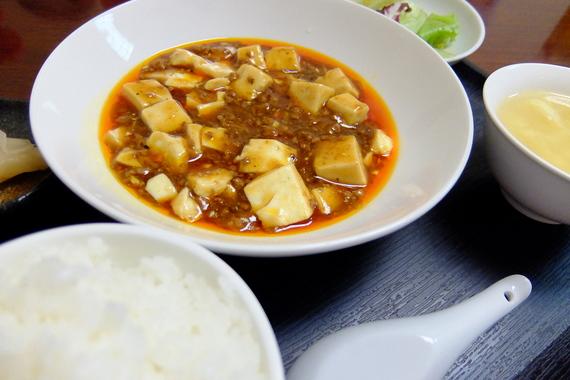 麻婆豆腐ランチ