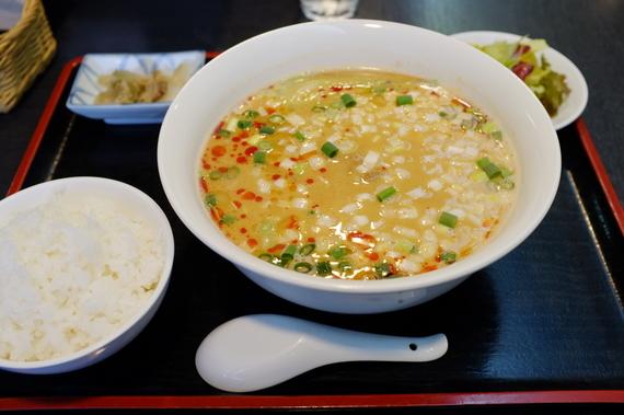 坦々麺(小ライス付き)