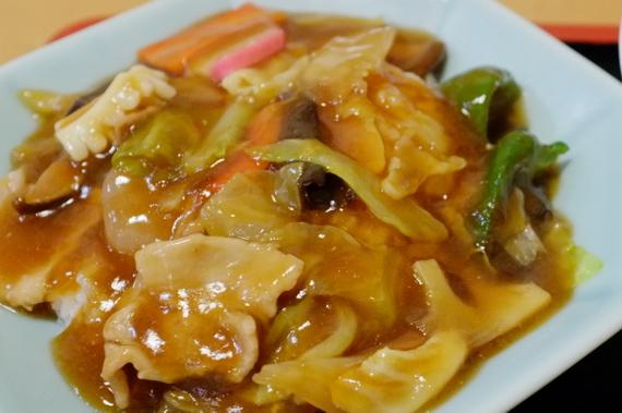 ミニ醤油ラーメン+ミニ中華丼セット