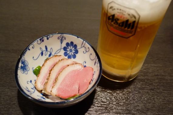お通し&ビール