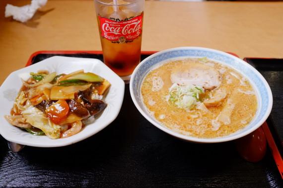 ミニ味噌ラーメン & ミニ中華飯 のセット