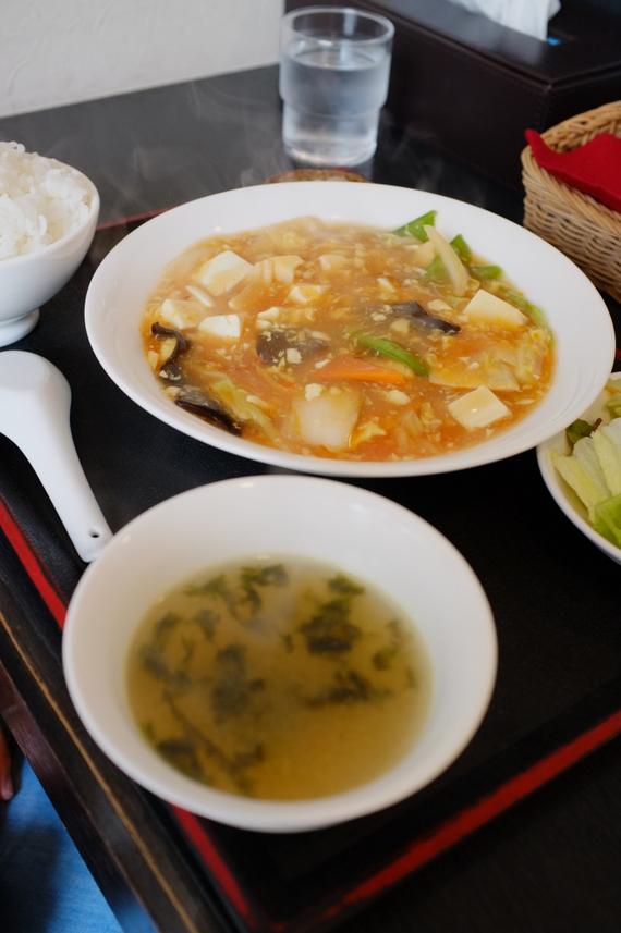 日替わりランチ(酸辣豆腐)