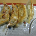 Eセットの餃子(4個)
