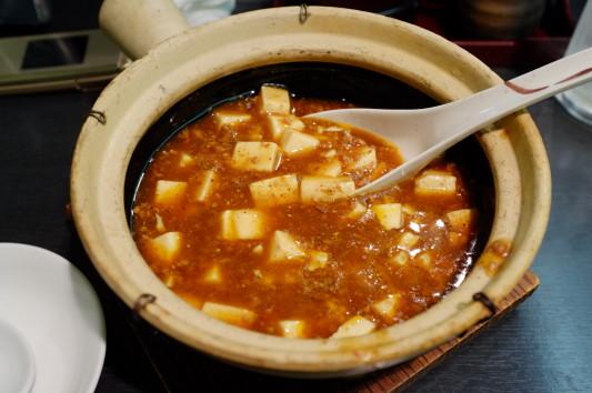 四川式麻婆豆腐