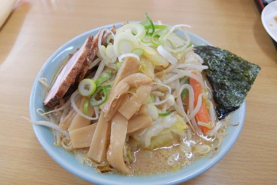 特製野菜みそラーメン+チャーシュー