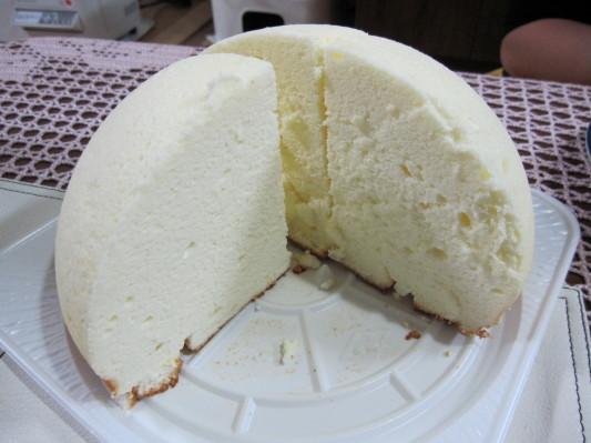 チーズのズコット 断面w