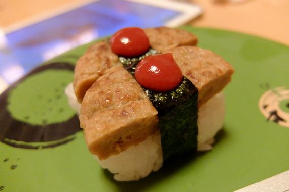 ハンバーグ寿司