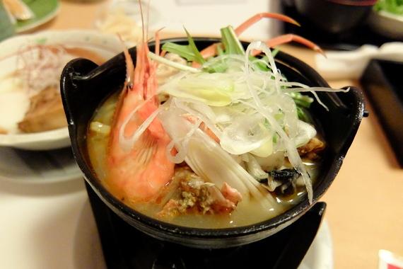 ミニ海鮮鍋ラーメン
