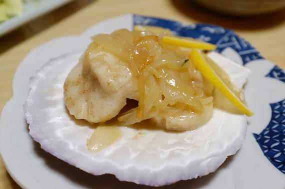 ホタテバター焼