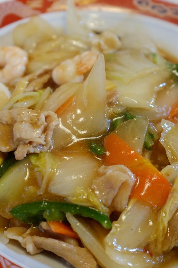 ピリ辛中華丼