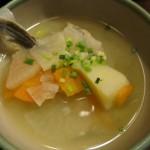 タラの三平汁(日替りのお通し)