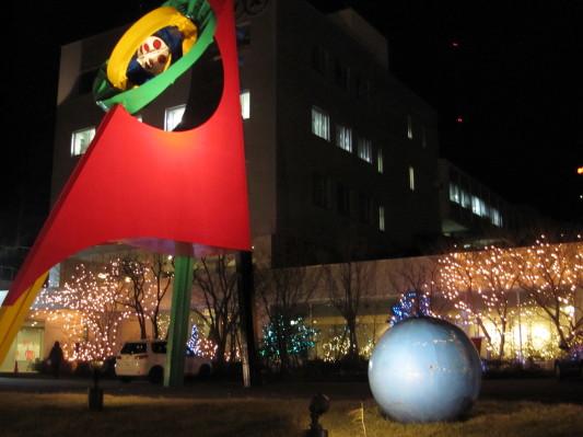 NHK室蘭放送局) 2010年12月11日 撮影