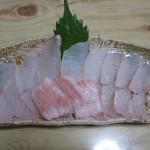 松川カレイ刺身