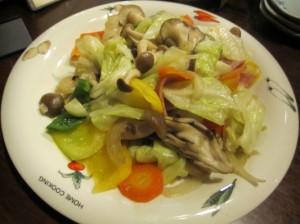 野菜いため