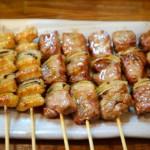 焼き鳥 タレ(皮、豚精肉)