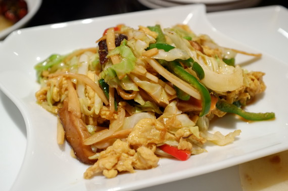 野菜炒めの春巻 手巻きスタイル