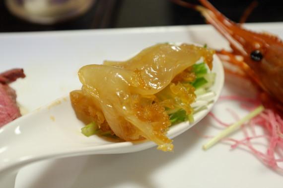 前菜(クラゲ)