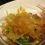 前菜 クラゲの和え物
