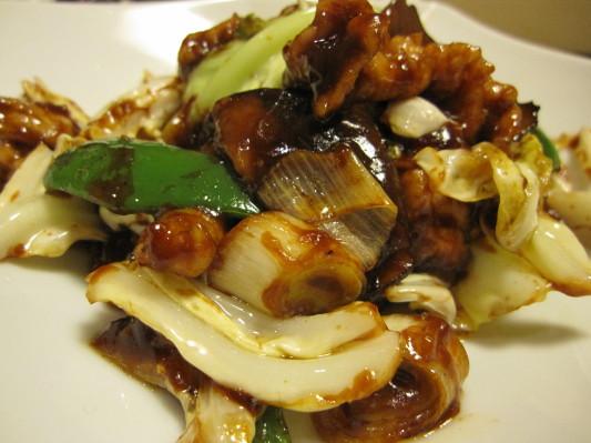 豚肉とキャベツの味噌炒め あっぷw