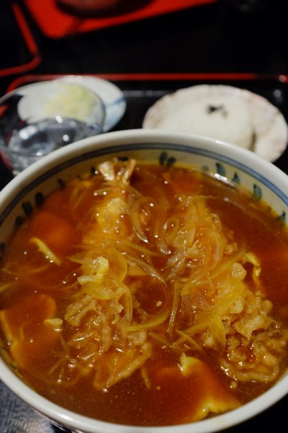カレー天ぷら蕎麦