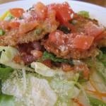 豚ヒレのカツレツ フレッシュトマトとバジルのケッカソース あっぷw