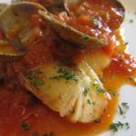 真鱈とアサリのトマト煮込み あっぷw